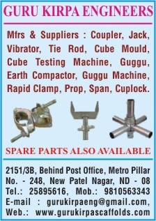 AtoZ Commercial Pages -Earthmoving Spare Parts Dealers In Delhi